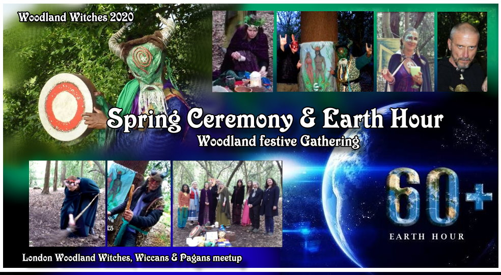 Woodland Witches - Spring Equinox & Earth Hour Gathering  - saturday 28th March 2020